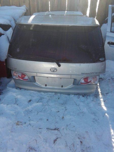 Дверь багажника Toyota Estima AHR10W 2AZFXE 2002 задняя