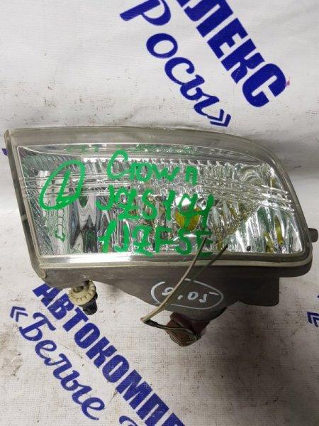 Фара противотуманная Toyota Crown JZS171 1JZFSE 1999 передняя левая