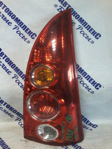 Стоп-сигнал Mazda Premacy СREW LFDE 2005 задний правый