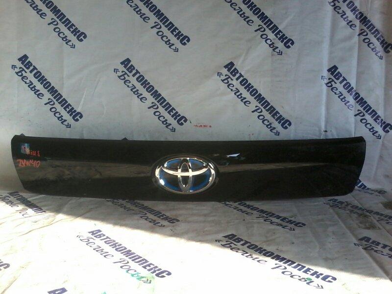 Накладки прочие Toyota Prius ZVW40 2ZRFXE 2010 передние