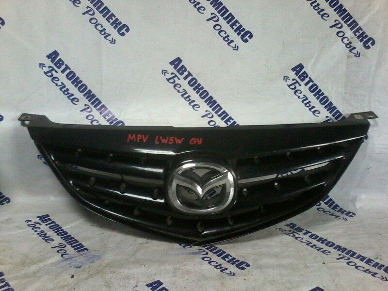 Решетка радиатора Mazda Mpv LW5W GY 1999 передняя