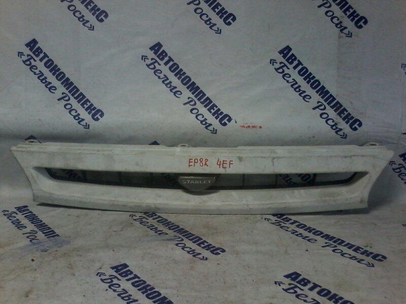 Решетка радиатора Toyota Starlet EP82 4EF 1989 передняя