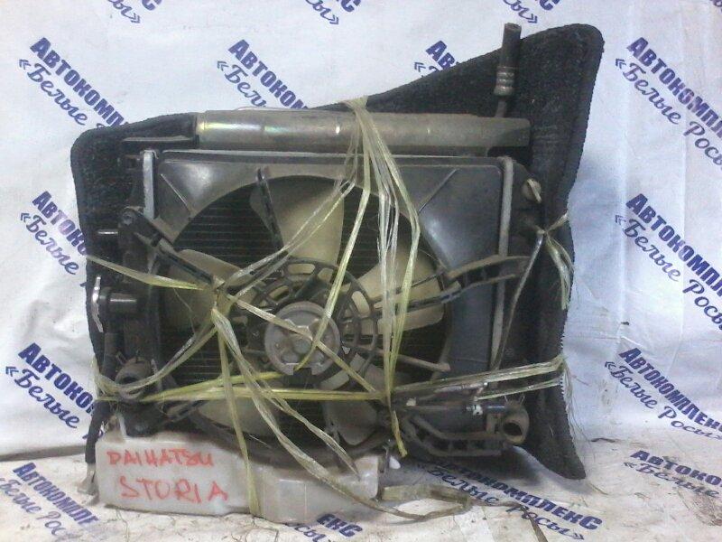Радиатор охлаждения двигателя Daihatsu Storia M100S EGDE 1998