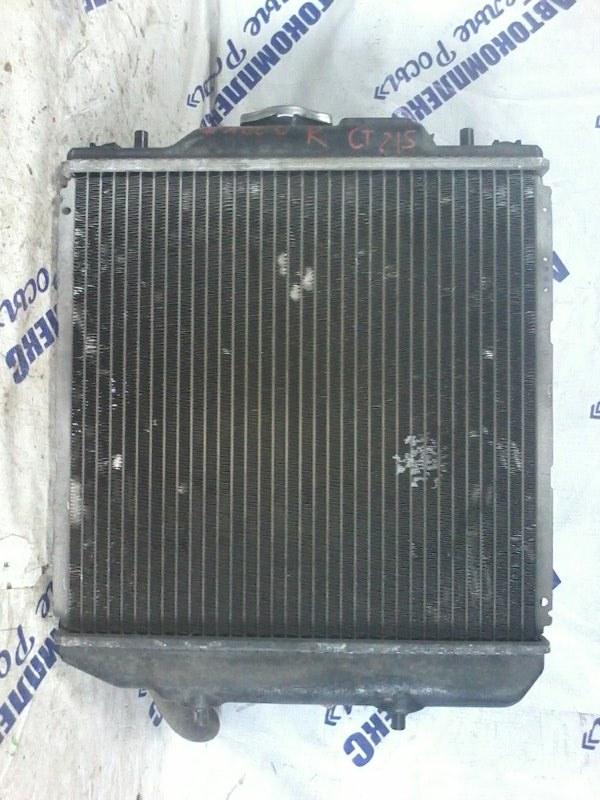 Радиатор охлаждения двигателя Suzuki Wagon R MH23S K6A передний