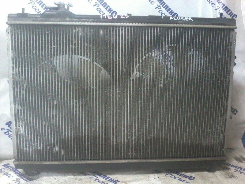 Радиатор охлаждения двигателя Toyota Kluger MCU25 1MZ 1998