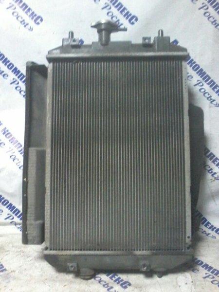 Радиатор охлаждения двигателя Toyota Bb QNC21 3SZVE 2005