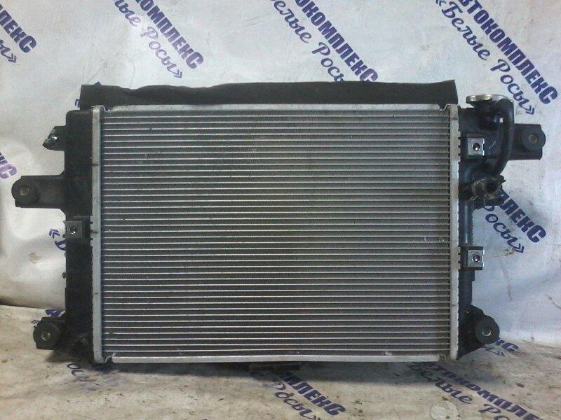 Радиатор охлаждения двигателя Nissan March K13 HR12DE передний