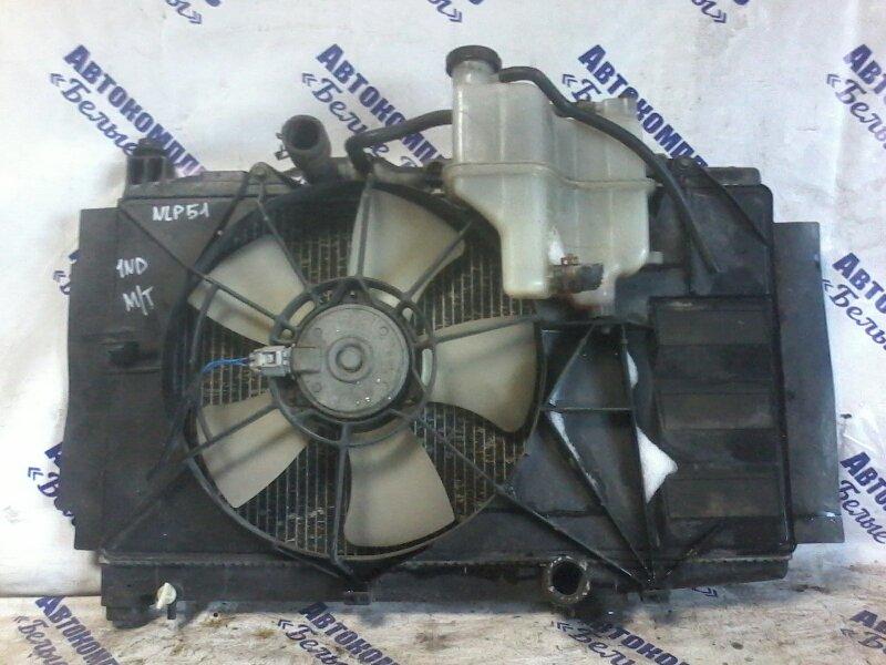 Радиатор охлаждения двигателя Toyota Succeed NLP51 1NDTV