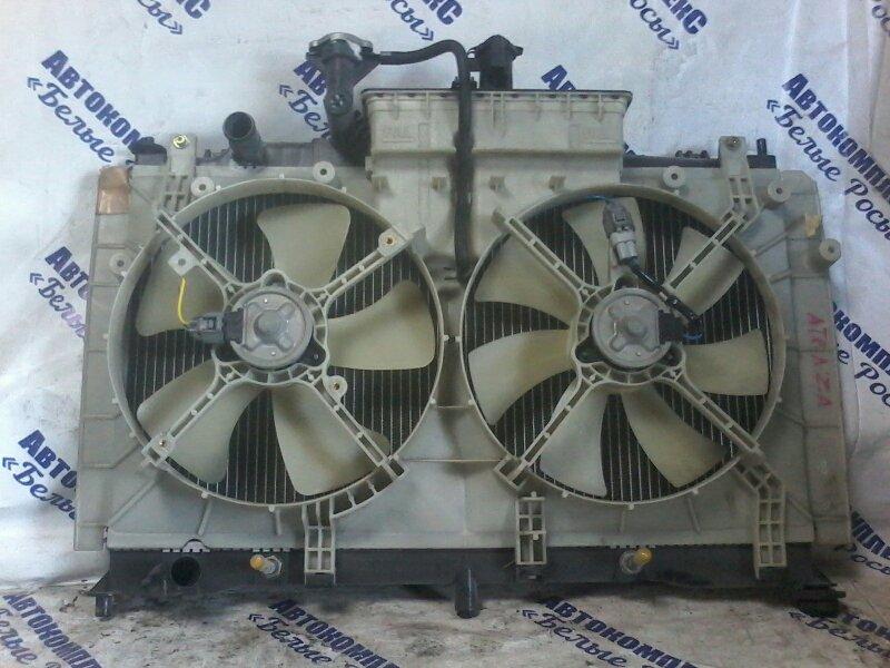 Радиатор охлаждения двигателя Mazda Atenza GY3W L3WE 2004