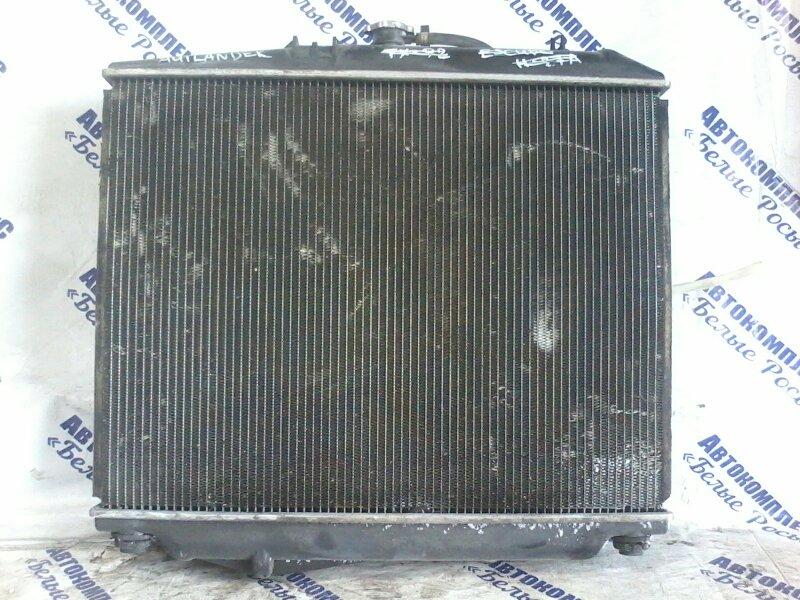 Радиатор охлаждения двигателя Mitsubishi Outlander CW5W 4B12 2010