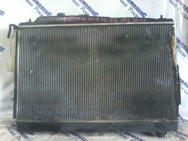 Радиатор охлаждения двигателя Toyota Estima MCR30 1MZFE 2000