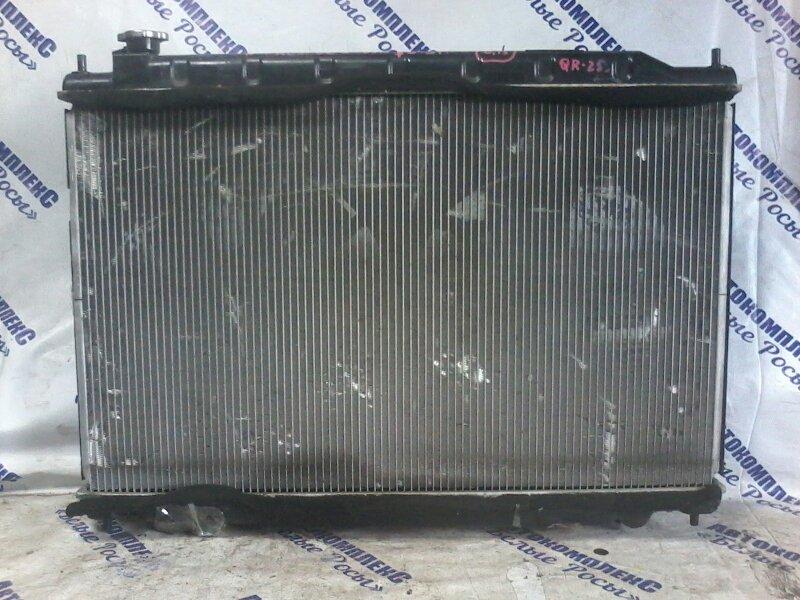 Радиатор охлаждения двигателя Nissan Presage TU31 QR25DE 2003