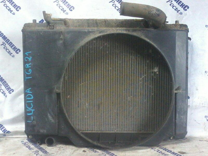 Радиатор охлаждения двигателя Toyota Lucida TCR21 2TZFE