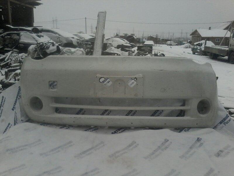Бампер Toyota Sienta NCP81 1NZFE 2003 передний