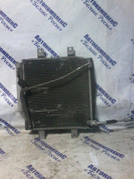 Радиатор кондиционера Toyota Passo KGC10 1KR 2004 передний