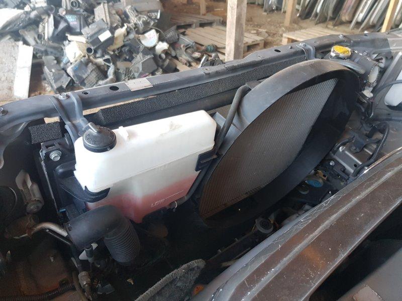 Радиатор охлаждения двигателя Toyota Progres JCG10 1JZ 1998 передний