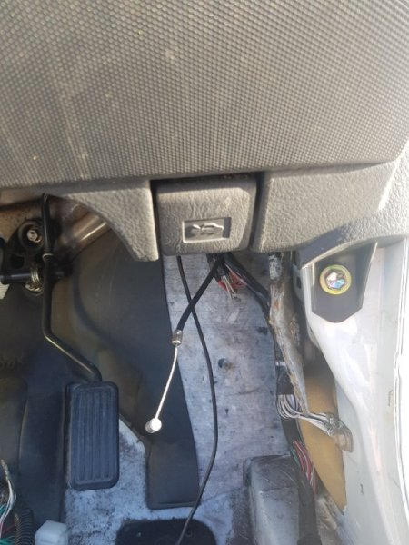 Трос капота Toyota Probox NCP51 1NZFE 2002 передний