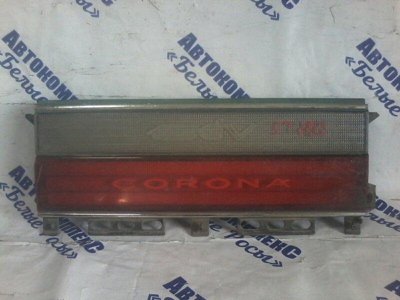 Стоп-вставка Toyota Corona Exiv ST180 4SFE 1989 задняя