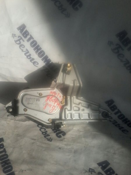 Мотор дворников Toyota Corolla Fielder NZE121 1NZFE 2005 задний