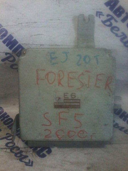 Блок управления двигателем Subaru Forester SF5 EJ20 1997 передний