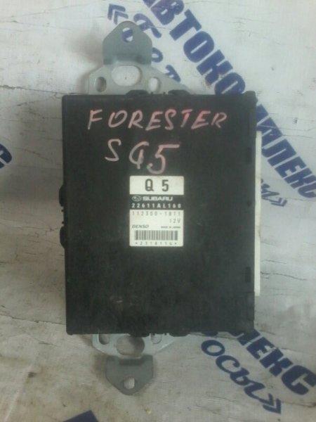 Блок управления двигателем Subaru Forester SG5 EJ20 2003 передний