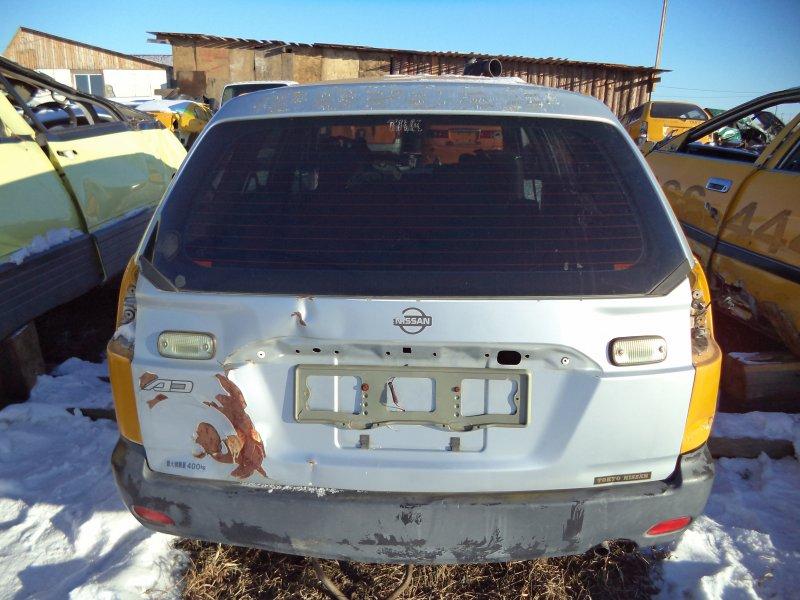 Дверь багажника Nissan Ad VY11 QG13DE задняя