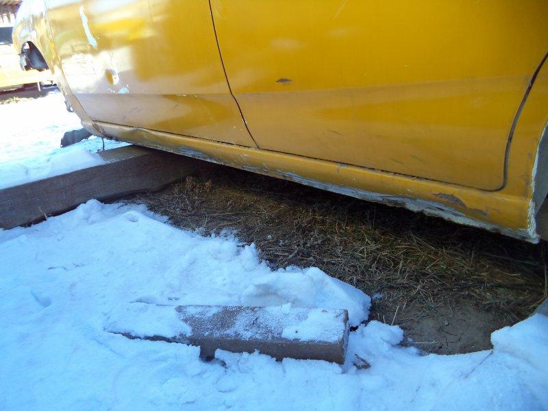 Порог Nissan Ad VY11 QG13DE задний левый
