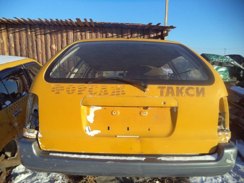 Дверь багажника Toyota Corolla EE102 4EFE задняя