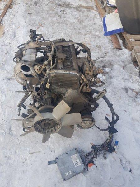 Двигатель Toyota Town Ace Noah SR50 4SFE 2001 передний