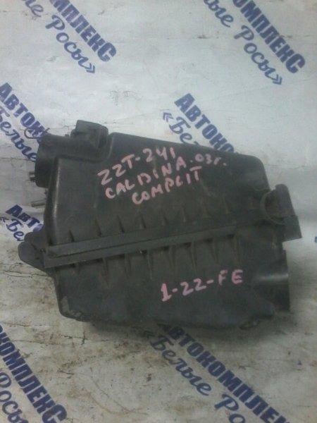 Корпус воздушного фильтра Toyota Caldina ZZT241 1ZZFE 2002 передний