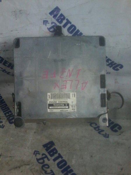 Блок управления двигателем Toyota Allex NZE121 1NZFE передний