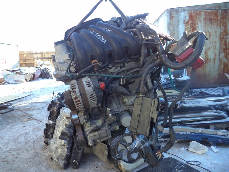 Двигатель Nissan Cube YGZ11 HR15