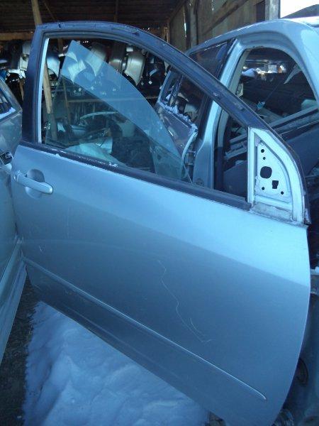 Дверь Toyota Corolla Fielder NZE121 1NZFE 2003 передняя правая