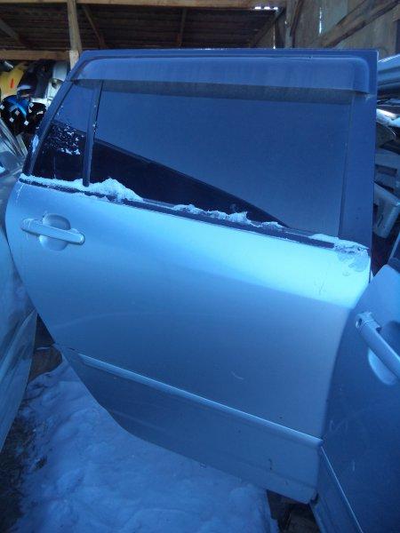 Дверь Toyota Corolla Fielder NZE121 1NZFE 2003 задняя правая
