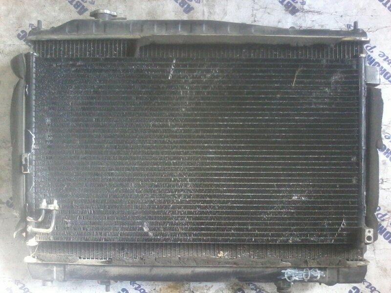 Радиатор кондиционера Nissan Gloria HY34 VQ30DD 1999 передний