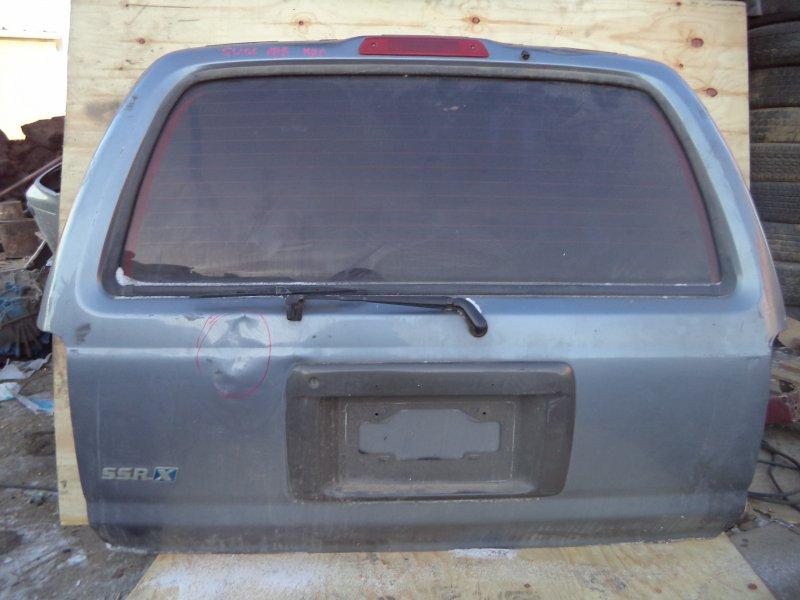 Дверь багажника Toyota Hilux Surf RZN185 3RZ 1999 задняя