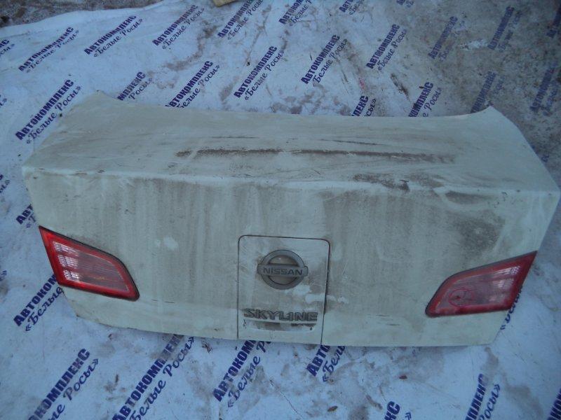 Крышка багажника Nissan Skyline V35 VQ25DD 2001 задняя
