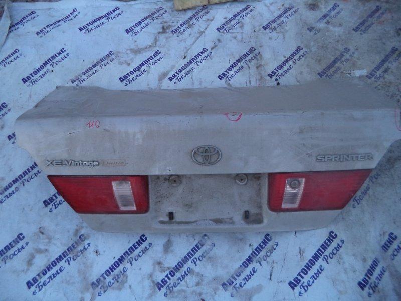 Крышка багажника Toyota Sprinter AE110 5AFE 1995 задняя