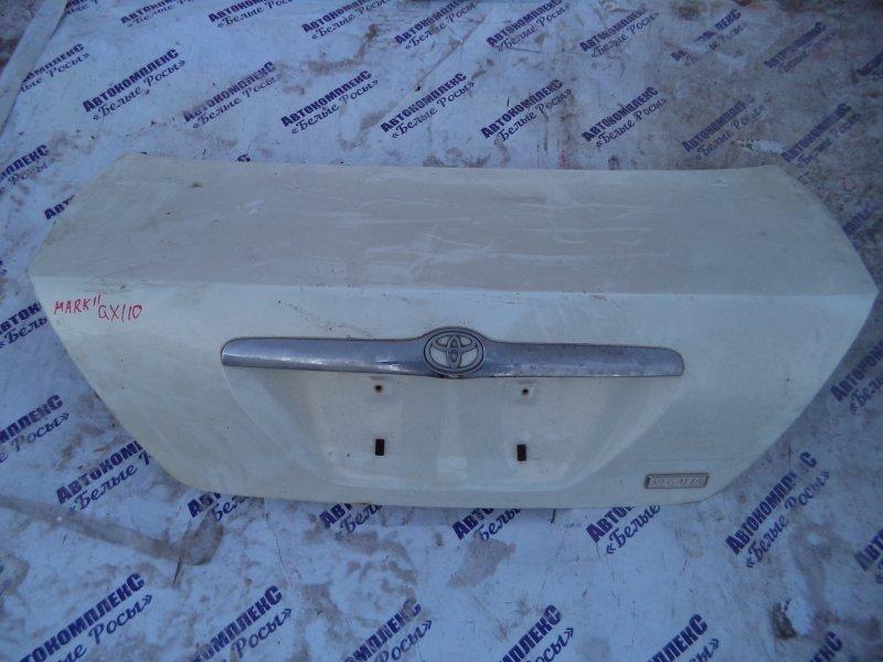 Крышка багажника Toyota Mark Ii GX110 1GFE 2001 задняя