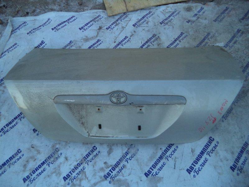 Крышка багажника Toyota Mark Ii JZX110 1JZFSE 2000 задняя