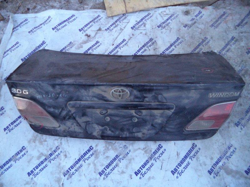 Крышка багажника Toyota Windom MCV30 1MZFE 2002 задняя