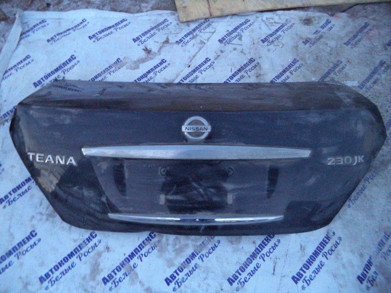 Крышка багажника Nissan Teana J31 VQ25DE 2003 задняя
