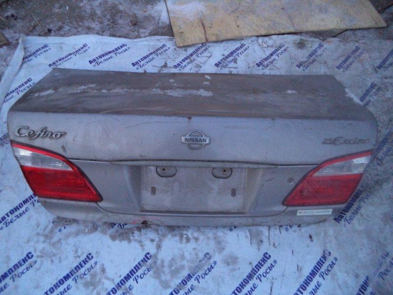 Крышка багажника Nissan Cefiro A33 VQ20DE 1998 задняя