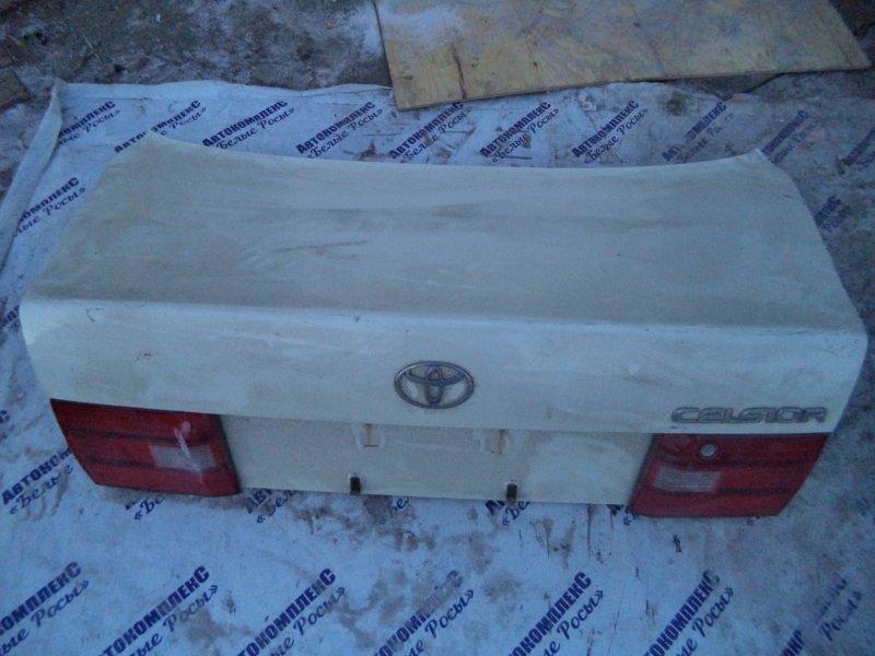 Крышка багажника Toyota Celsior UCF21 1UZFE 2004 задняя