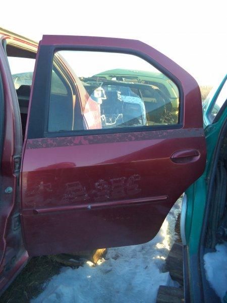 Дверь Renault Logan LS0G K7J 2005 задняя левая