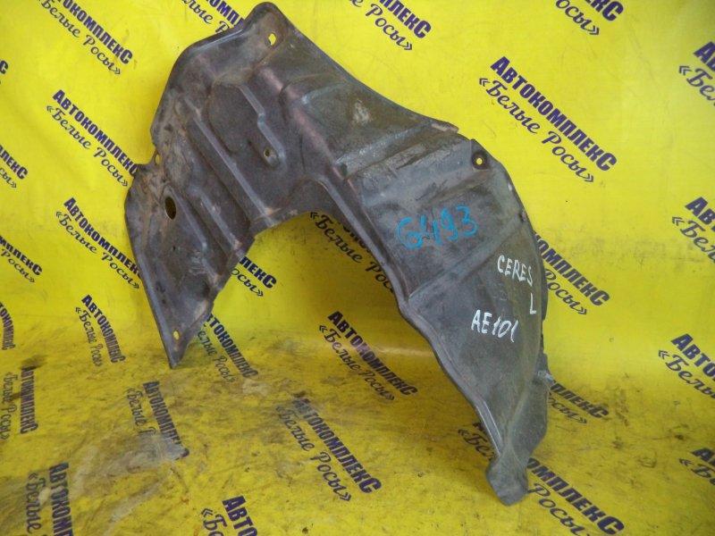 Защита двигателя Toyota Corolla Ceres AE101 4AFE 1995 передняя левая