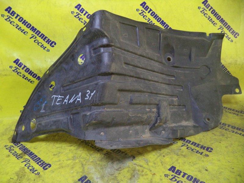 Защита двигателя Nissan Teana J31 VQ25DE 2003 передняя