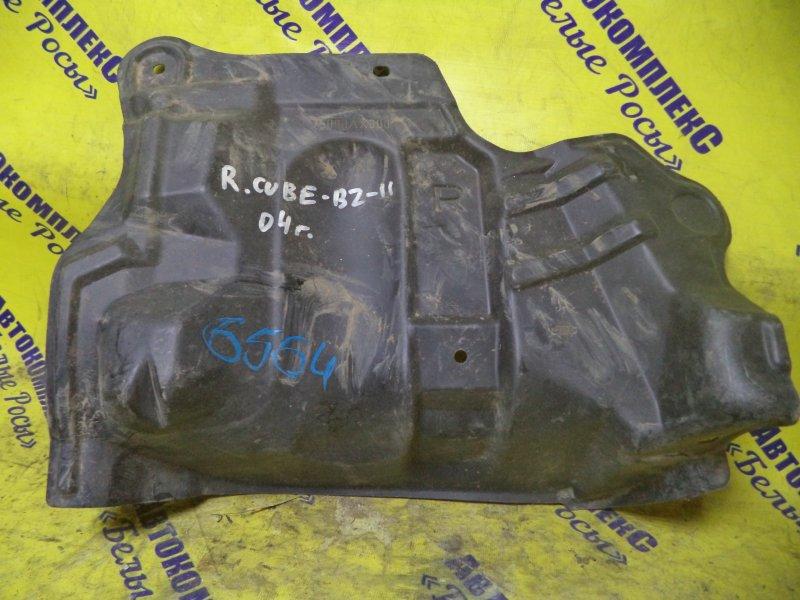Защита двигателя Nissan Cube BZ11 CR14DE 2002 передняя правая