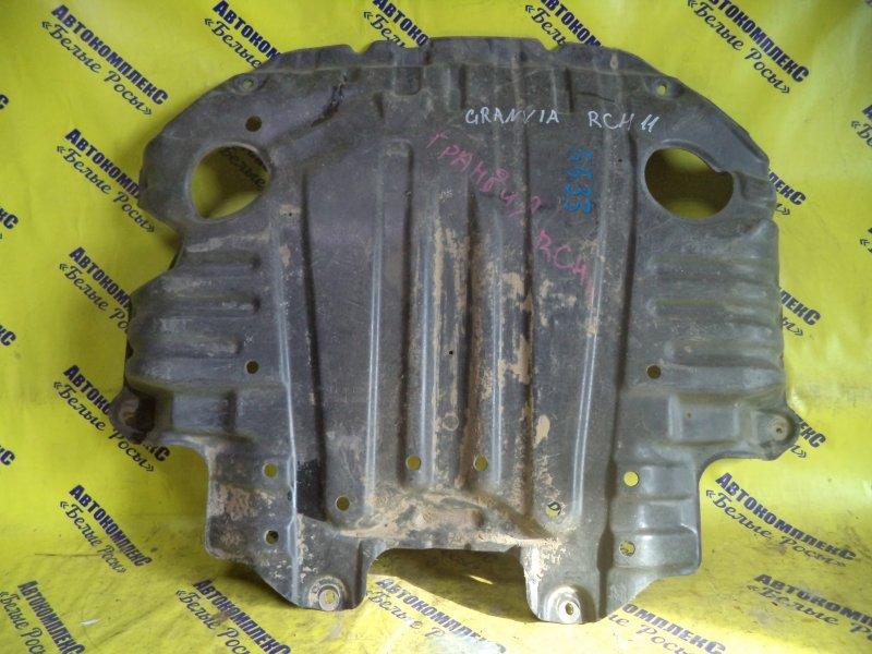 Защита двигателя Toyota Granvia RCH11 3RZFE передняя