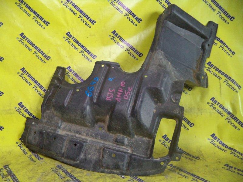 Защита двигателя Toyota Isis ANM10 1AZFSE 2004 передняя правая